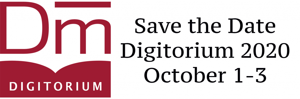 Call for Papers: Digitorium 2020