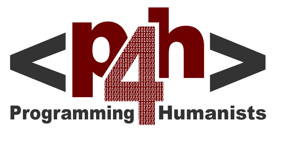 Programming for Humanists Fall Course