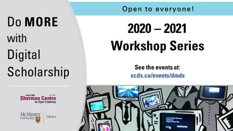 Do More with Digital Scholarship workshop series